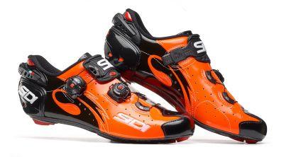 Chaussures Sidi WIRE Carbon '17 Orange/Noir