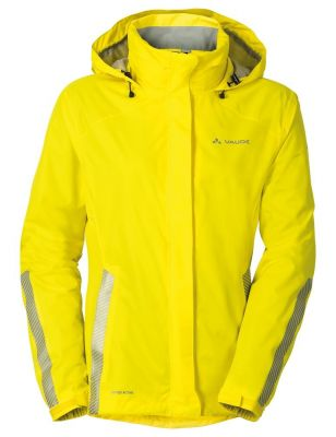 Veste imperméable Vaude Women's Luminum Jaune Canary