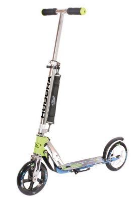"Trottinette Hudora Big Wheel Hudora Alu 8"" Vert/Bleu"