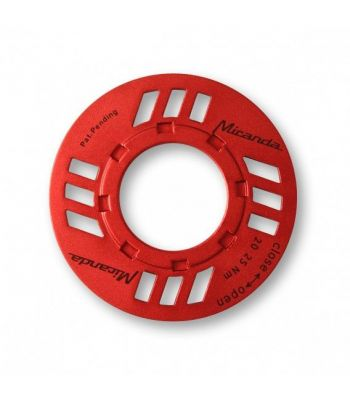 Protection de chaîne Miranda E-Chainguard Nut p. transmission Bosch Rouge