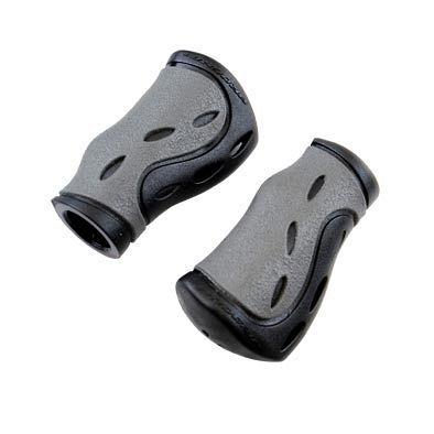 Poignées ProGrip 988 Dual ergonomiques 85 mm Noir/Gris