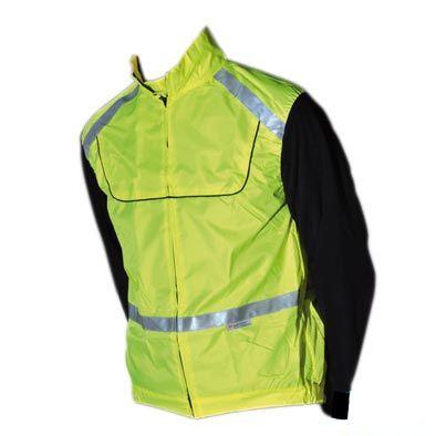 Veste de sécurité Velo-Cyclo Jaune Fluo Bande réfléchissante EN1150