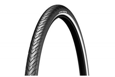 Pneu 26 x 1.85 Michelin Protek Noir/Flancs réfléchissants