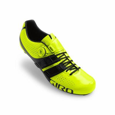 Chaussures Giro Factor Techlace Jaune fluo/Noir