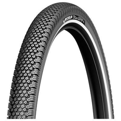 Pneu Michelin StarGrip 700 x 40C TR Noir/Réfléchissant