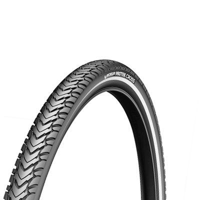 Pneu Michelin Protek Cross 700 x 35C Noir/Flancs réfléchissants