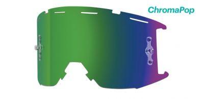 Écran pour masque Smith Fuel/Intake Solaire Vert ChromaPop