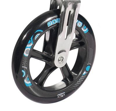 Roue trottinette Hudora Big Wheel 205 mm Noir/Turquoise (l'unité)