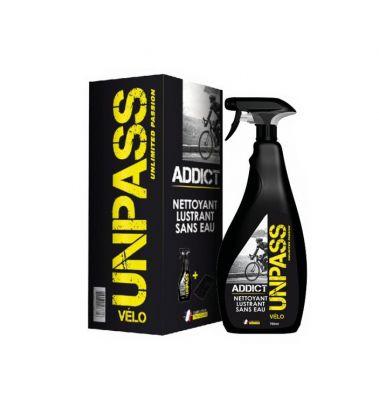 Nettoyant UNPASS Addict lustrant sans rinçage 750 ml