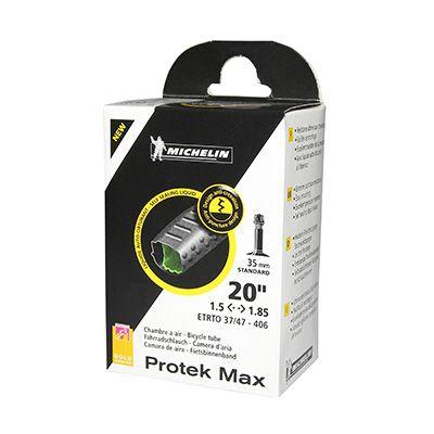 Chambre à air Michelin Protek Max 20 x 1.50/1.85 450A Schrader 35 mm