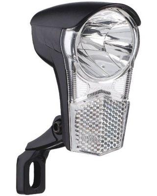 Éclairage LED à dynamo Uni LED avec support et interrupteur