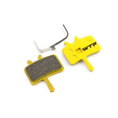 Plaquettes de frein WTP compatibles Avid Juicy / Avid BB7 et Promax DSK-950 Organiques