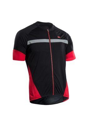 Maillot Sugoi RS Century Zap Jersey Noir/Rouge