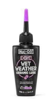 Lubrifiant chaîne Muc Off conditions humides pour Ebike 50 ml