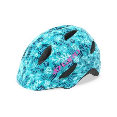 Casque enfant Giro Scamp Bleu Mat/Floral