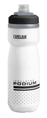 Bidon isotherme CamelBak Podium Chill 620 ml Blanc/Noir