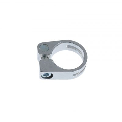 Collier de selle Miche Race Light Alu 31.8 mm à visser Argent