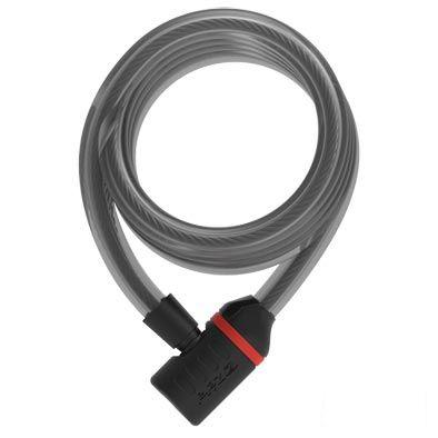 Antivol Zéfal K-Traz C9 câble spirale à clé 15 mm x 185 cm