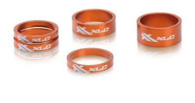 "Set entretoises XLC A-Head AS-A02 1.1/8"" Orange"