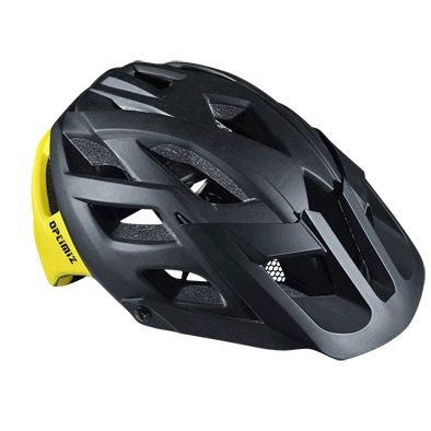 Casque Optimiz O-330 Noir/Jaune Mat