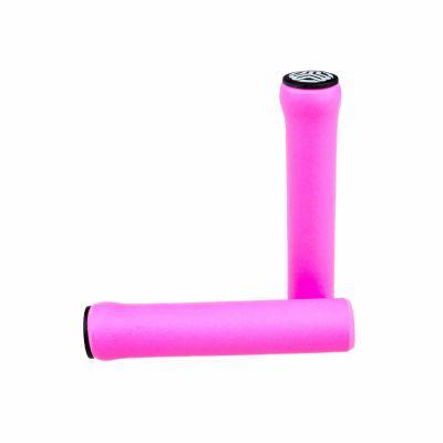 Poignées SB3 Silicone Grips Rose 30mm