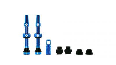 Kit de valves tubeless Muc-Off 44 mm Bleu (Paire)