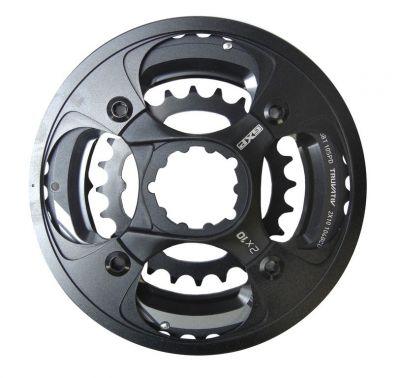 Plateau Truvativ X9 GXP-Spider, 10 vitesses, de couleur noire