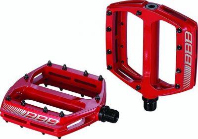 Pédales plates BBB CoolRide Rouge - BPD-36