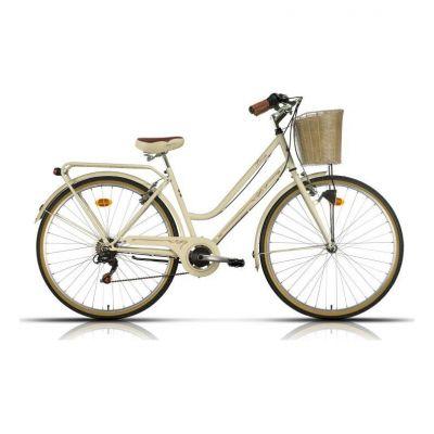 Vélo Urbain Megamo Trivia 28'' Beige 2020