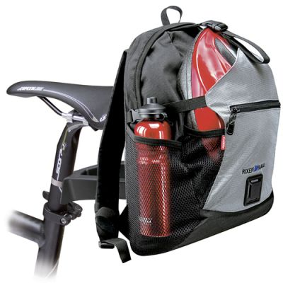 Sac à dos vélo KLICKfix Freepack Sport Noir/Argent