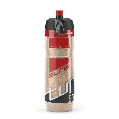 Bidon isotherme Elite Turacio 500 ml Rouge