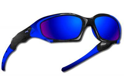 Lunettes Power Race Maverick hydrophobes Noir/Bleu