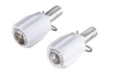 Butée réglable BBB Adjuster pour câble de dérailleur (x2) Blanc - BCB-93