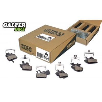Box atelier Galfer 60 plaquettes Pack 2 Semi-métallique Standard