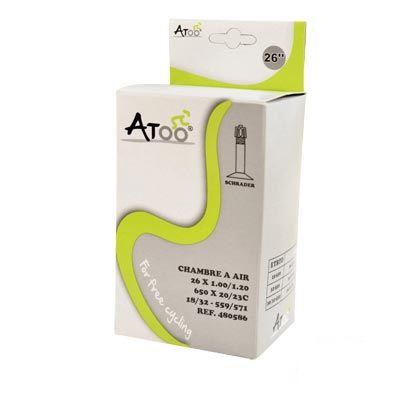 Chambre à air ATOO 26 x 1.00/1.20 Schrader 35 mm