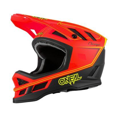 Casque VTT O'Neal Blade Helmet Charger Neon Rouge