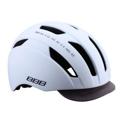 Casque urbain BBB Metro Blanc mat - BHE-55
