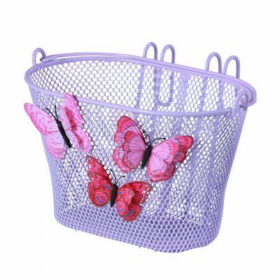 Panier AV enfant BASIL Jasmin Acier fix. crochets pour 12 à 20 pouces Violet