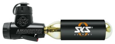 Gonfleur à cartouche CO2 SKS Airbuster + 1 cartouche 16 g