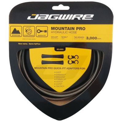 Kit durite hydraulique Jagwire Mountain Pro - Carbon Silver