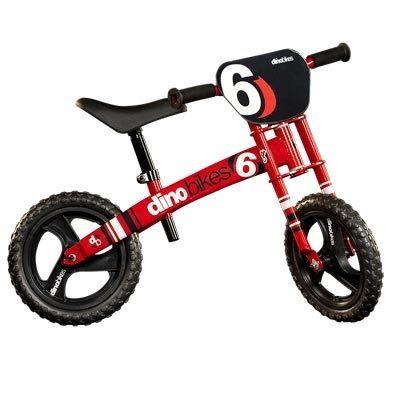 Draisienne Dino Bikes Runner Moto 12'' Rouge/Noir