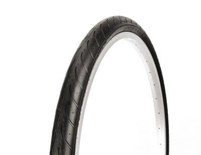 Pneu slick Deli Tire 26 x 1.50 S-611 anti-crevaison TR Noir