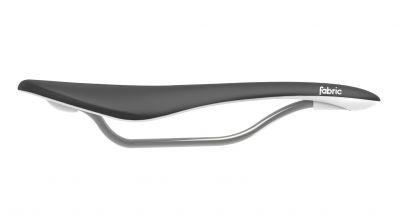 Selle Fabric Scoop Flat Elite 142 mm Noir/Blanc
