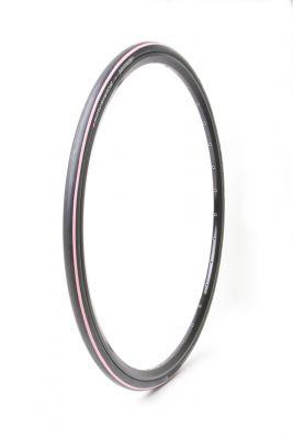 Pneu Hutchinson Equinox 2 700 x 23C TT TS Noir/Rose