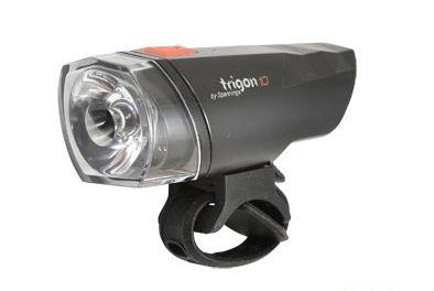 Éclairage AV Spanninga Trigon 10 Lux LED À piles Noir