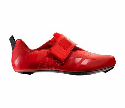 Chaussures triathlon Mavic Cosmic Elite Tri Rouge Fiery