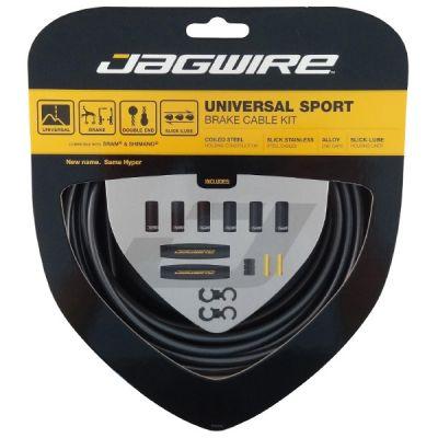 Kit câble et gaine de frein Jagwire Universal Sport - Gris UCK410