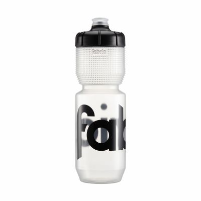 Bidon Fabric Gripper 750 ml Transparent/Noir