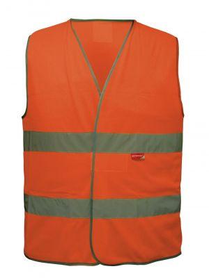 Gilet sécurité Adulte L2S Visio 543 Orange fluorescent