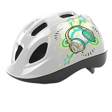 Casque Enfant Headgy Stereo Blanc